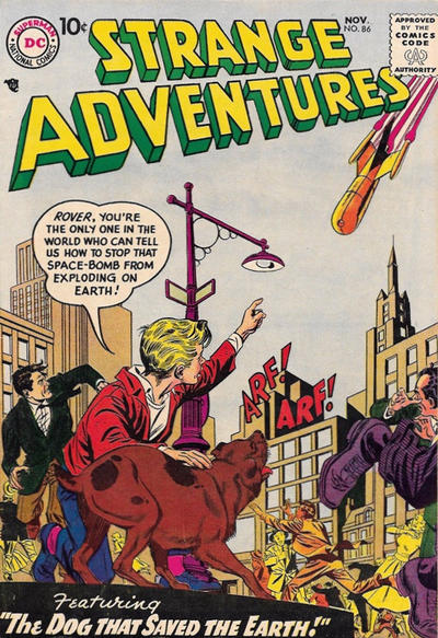 Cover for Strange Adventures (DC, 1950 series) #86