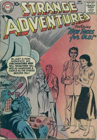 Cover for Strange Adventures (DC, 1950 series) #87