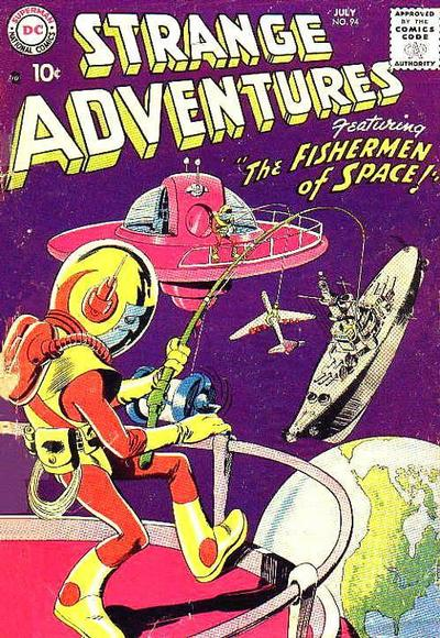 Cover for Strange Adventures (DC, 1950 series) #94