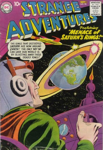 Cover for Strange Adventures (DC, 1950 series) #96