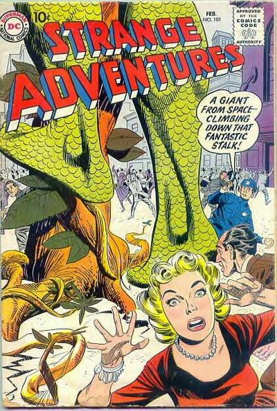 Cover for Strange Adventures (1950 series) #101