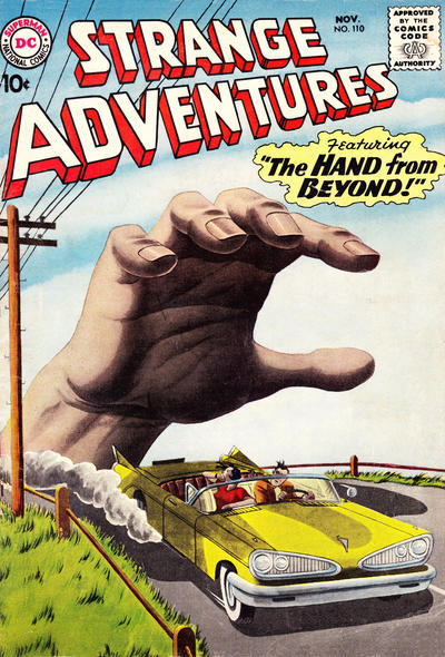 Cover for Strange Adventures (DC, 1950 series) #110