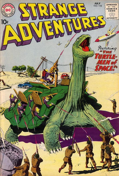 Cover for Strange Adventures (1950 series) #118