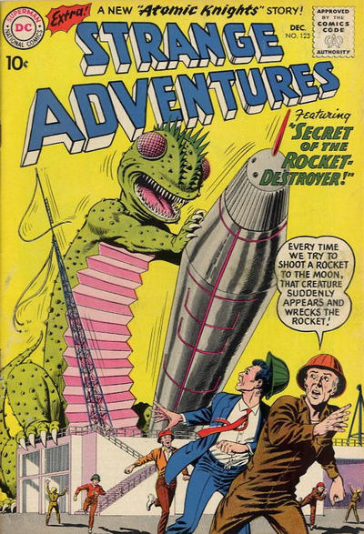 Cover for Strange Adventures (1950 series) #123