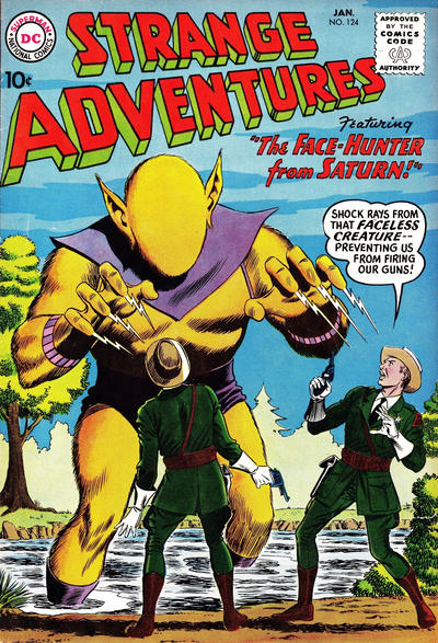 Cover for Strange Adventures (DC, 1950 series) #124