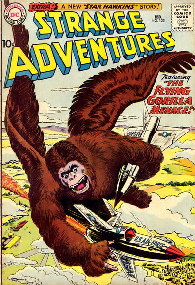 Cover for Strange Adventures (DC, 1950 series) #125