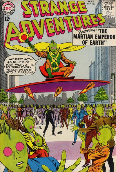 Cover for Strange Adventures (DC, 1950 series) #152