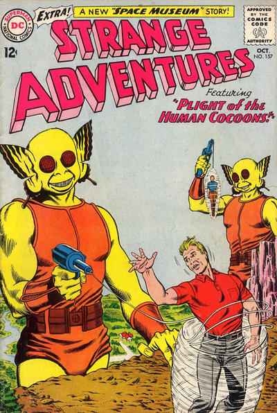 Cover for Strange Adventures (DC, 1950 series) #157