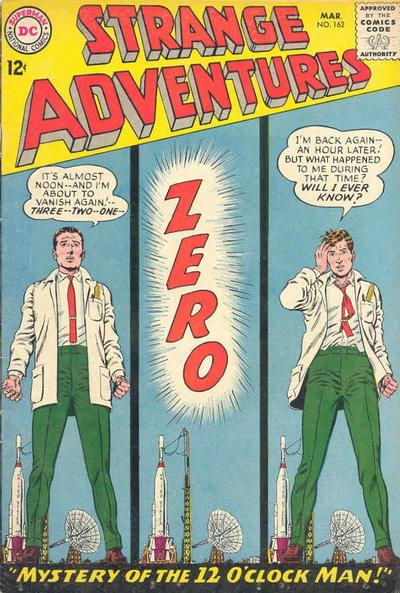 Cover for Strange Adventures (DC, 1950 series) #162