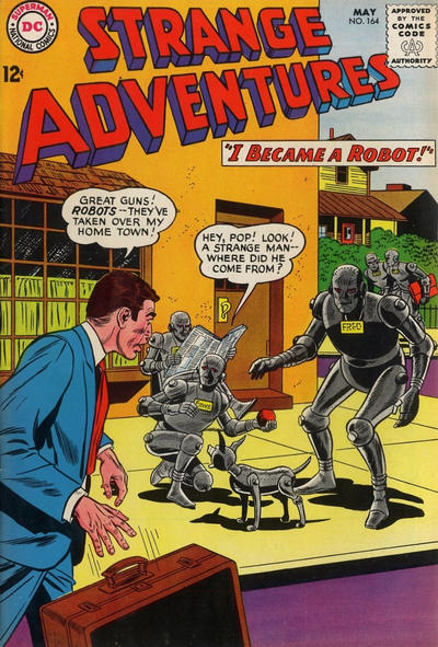 Cover for Strange Adventures (DC, 1950 series) #164