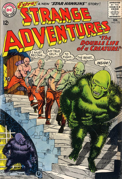 Cover for Strange Adventures (DC, 1950 series) #173