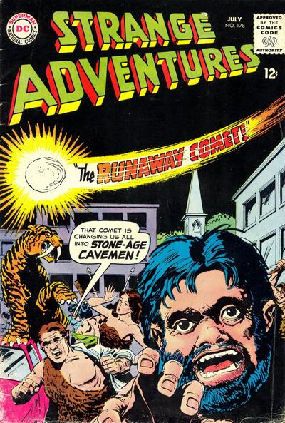 Cover for Strange Adventures (1950 series) #178