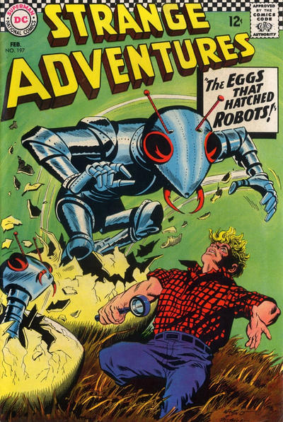 Cover for Strange Adventures (DC, 1950 series) #197