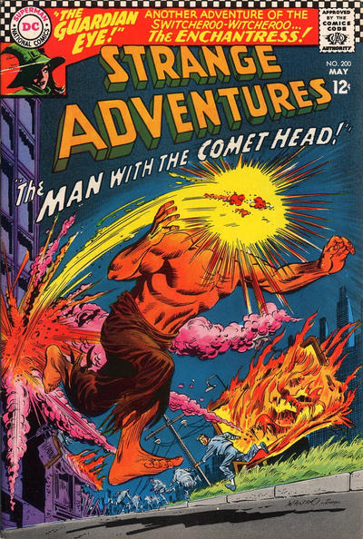 Cover for Strange Adventures (DC, 1950 series) #200