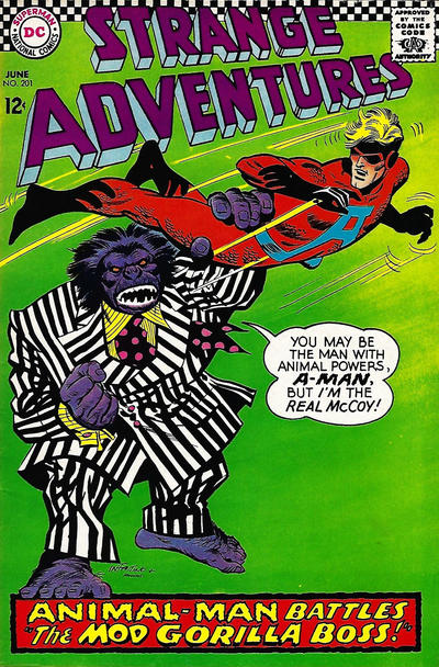 Cover for Strange Adventures (DC, 1950 series) #201