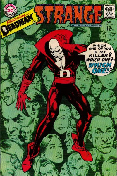 Cover for Strange Adventures (DC, 1950 series) #207