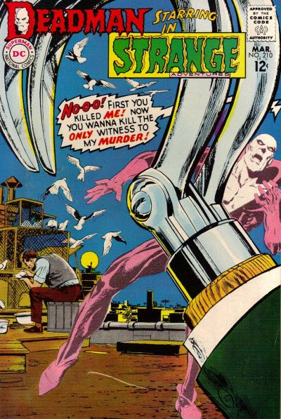 Cover for Strange Adventures (DC, 1950 series) #210