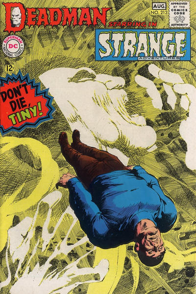 Cover for Strange Adventures (DC, 1950 series) #213
