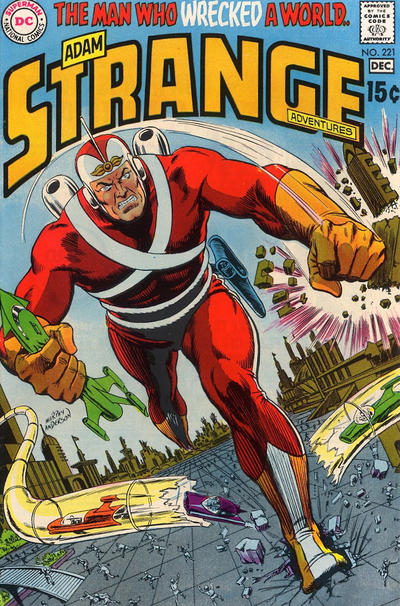 Cover for Strange Adventures (DC, 1950 series) #221