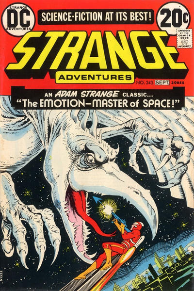 Cover for Strange Adventures (DC, 1950 series) #243