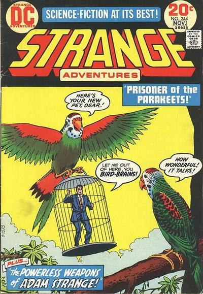 Cover for Strange Adventures (DC, 1950 series) #244