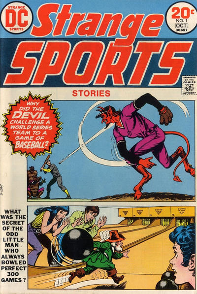 Cover for Strange Sports Stories (1973 series) #1