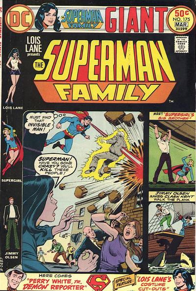 Cover for The Superman Family (1974 series) #175