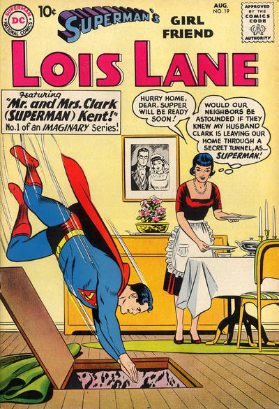 Cover for Superman's Girl Friend, Lois Lane (1958 series) #19