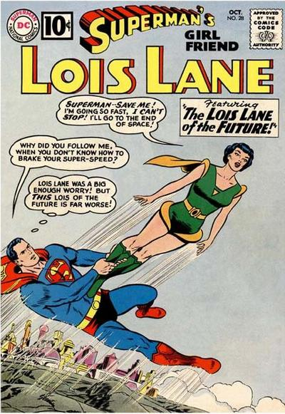 Cover for Superman&#39;s Girl Friend, Lois Lane (1958 series) #28