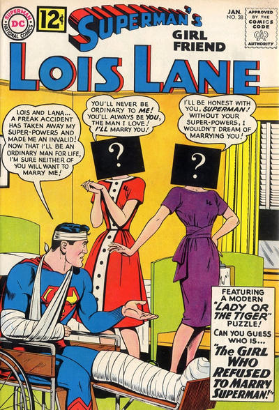 Cover for Superman's Girl Friend, Lois Lane (1958 series) #38