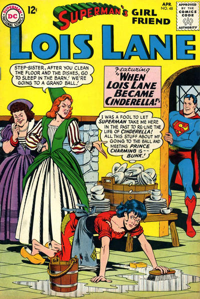 Cover for Superman's Girl Friend, Lois Lane (DC, 1958 series) #48