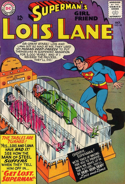 Cover for Superman's Girl Friend, Lois Lane (1958 series) #60