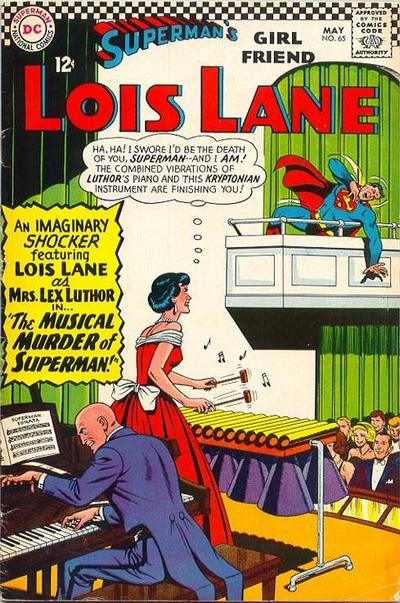 Cover for Superman's Girl Friend, Lois Lane (DC, 1958 series) #65