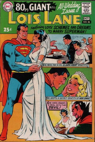 Cover for Superman's Girl Friend, Lois Lane (1958 series) #86