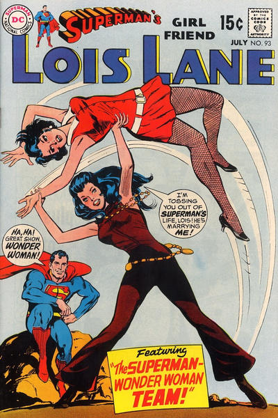 Cover for Superman's Girl Friend, Lois Lane (DC, 1958 series) #93