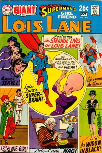 Cover for Superman's Girl Friend, Lois Lane (DC, 1958 series) #95