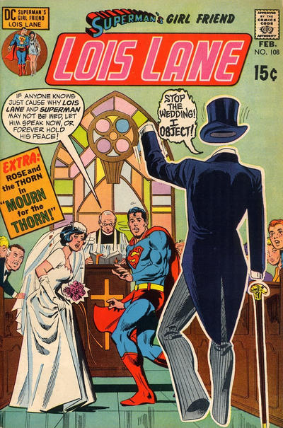 Cover for Superman's Girl Friend, Lois Lane (DC, 1958 series) #108