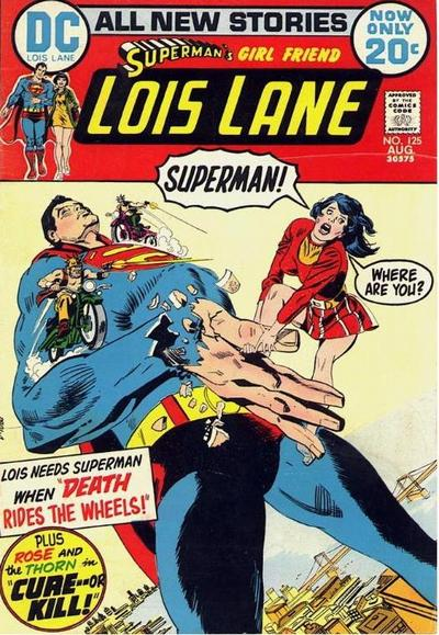 Cover for Superman's Girl Friend, Lois Lane (DC, 1958 series) #125