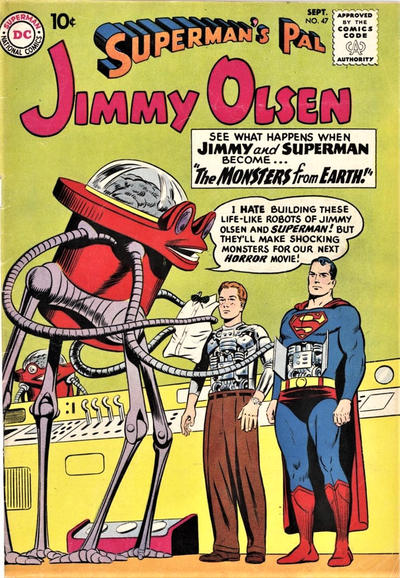Cover for Superman's Pal, Jimmy Olsen (1954 series) #47