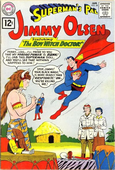Cover for Superman's Pal, Jimmy Olsen (DC, 1954 series) #58