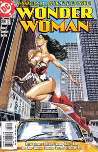 Cover for Wonder Woman (DC, 1987 series) #200