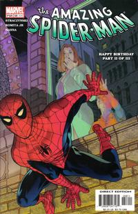 Cover Thumbnail for The Amazing Spider-Man (Marvel, 1999 series) #58 (499) [Direct Edition]