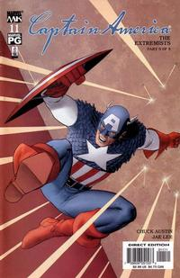 Cover Thumbnail for Captain America (Marvel, 2002 series) #11 [Direct Edition]