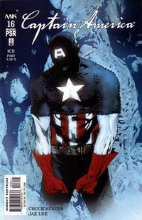 Cover Thumbnail for Captain America (Marvel, 2002 series) #16 [Direct Edition]