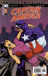 Cover Thumbnail for Captain America (Marvel, 2002 series) #25 [Direct Edition]