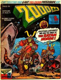 Cover for 2000 AD (1977 series) #26