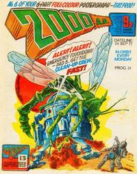 Cover Thumbnail for 2000 AD (IPC, 1977 series) #31