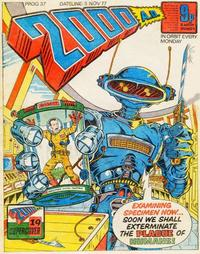 Cover Thumbnail for 2000 AD (IPC, 1977 series) #37