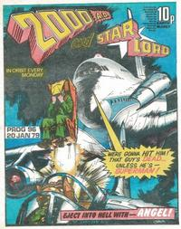 Cover Thumbnail for 2000 AD and Star Lord (IPC, 1978 series) #96
