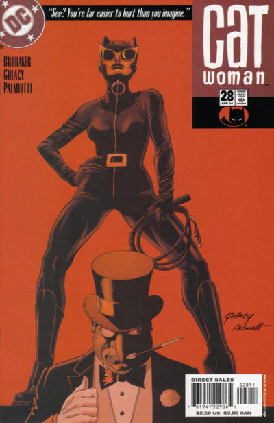 Cover for Catwoman (2002 series) #28